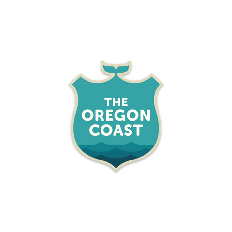 Official Oregon Coast Logo Sticker