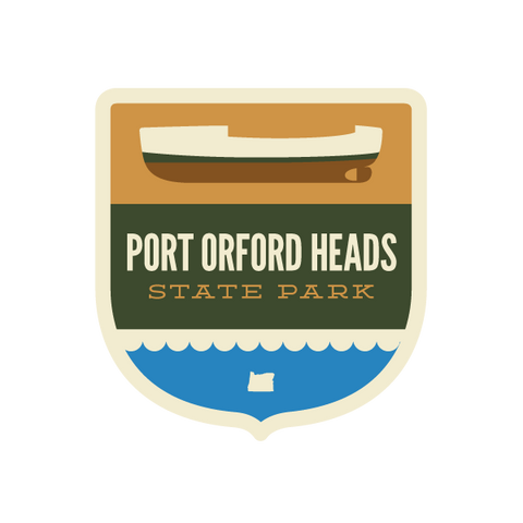 Port Orford Heads State Park Sticker