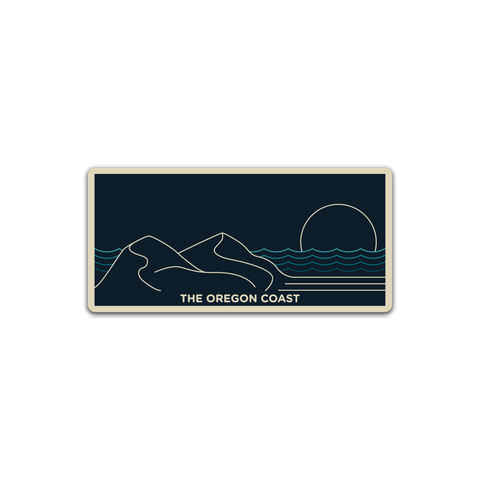 The Oregon Coast, Central Coast Sticker