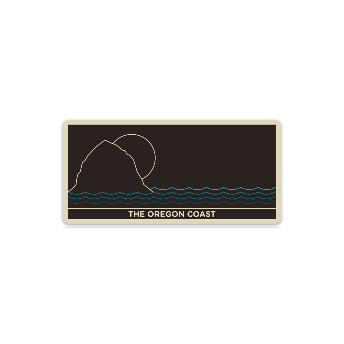 North Coast Vinyl Sticker