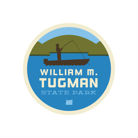 William M. Tugman State Park Sticker
