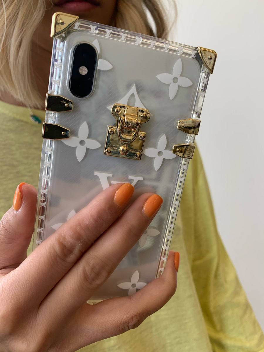Clear Gold Case