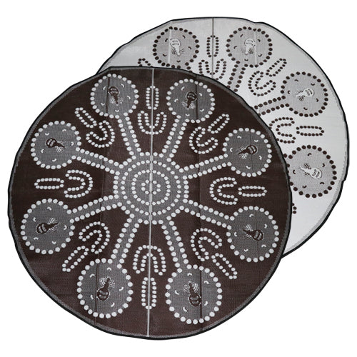 Mat - Aboriginal Design Recycled - Honey Ants