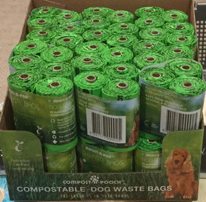 Compost-A-Pooch = Dog Waste Bags