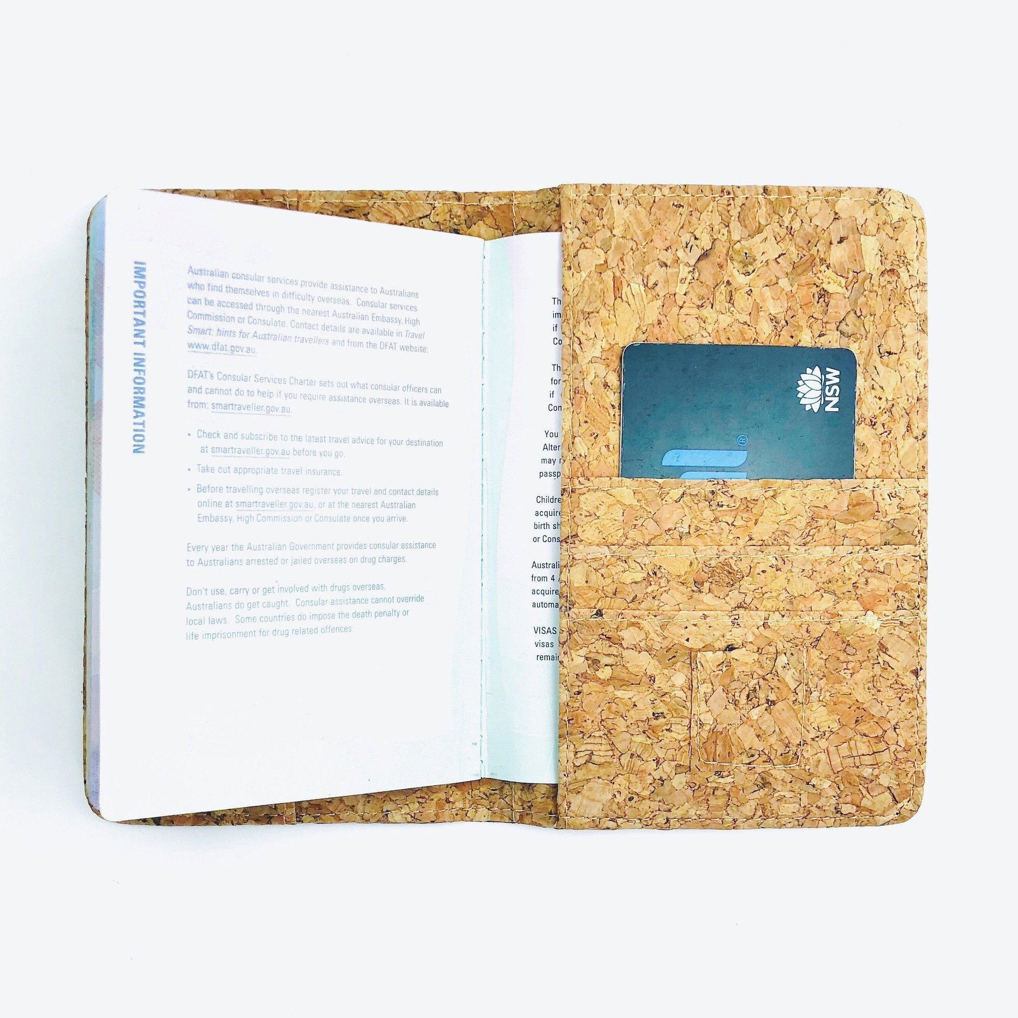 Cork - Classic Fifi Passport Holder