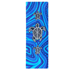 Mats Yoga - Aboriginal Design Yoga Mat, Eco Rubber
