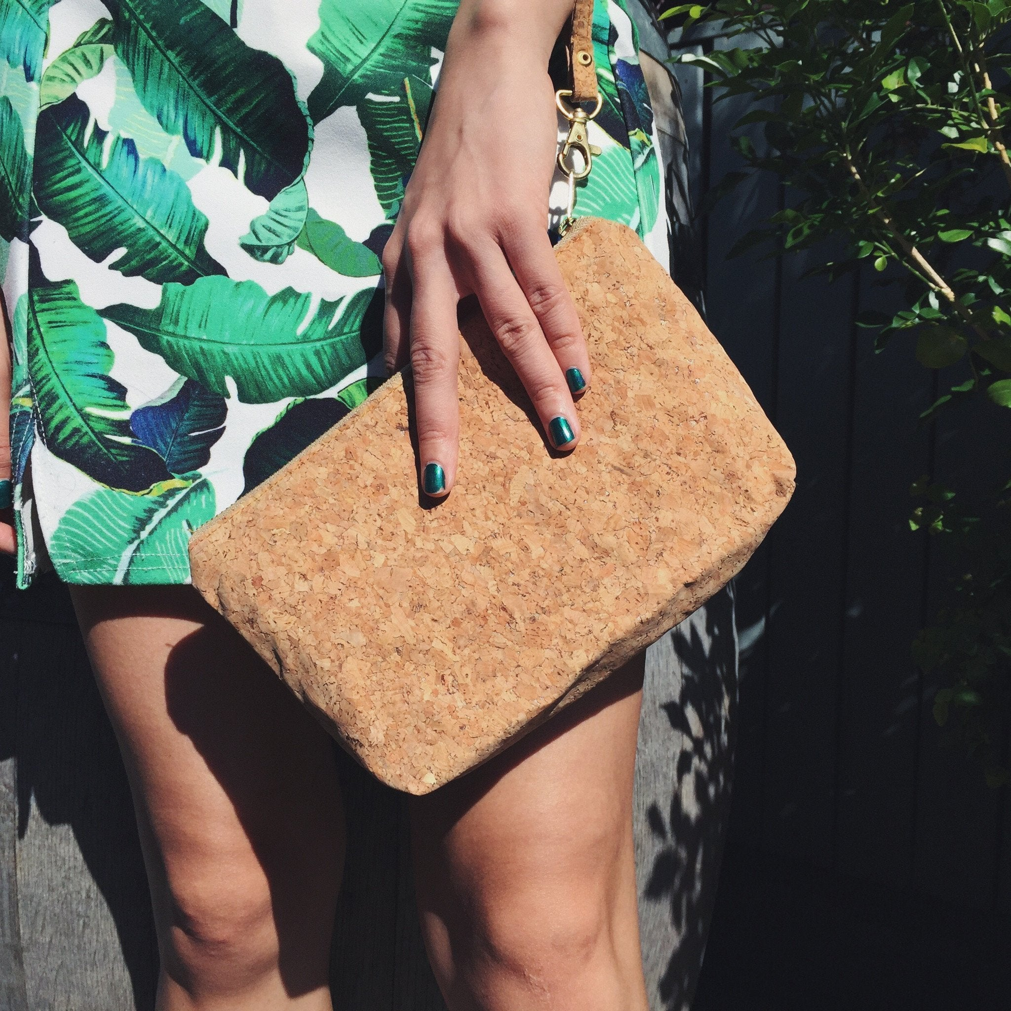 Cork - Classic Miley Makeup Bag