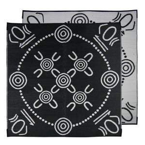 Mat - Aboriginal Design Recycled - Gatherings