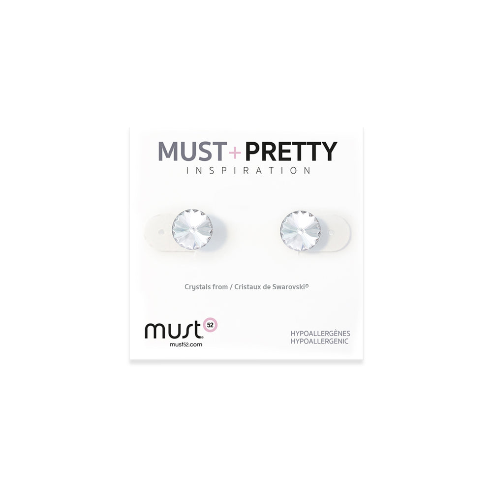 Must+Pretty Crystal Earring Set