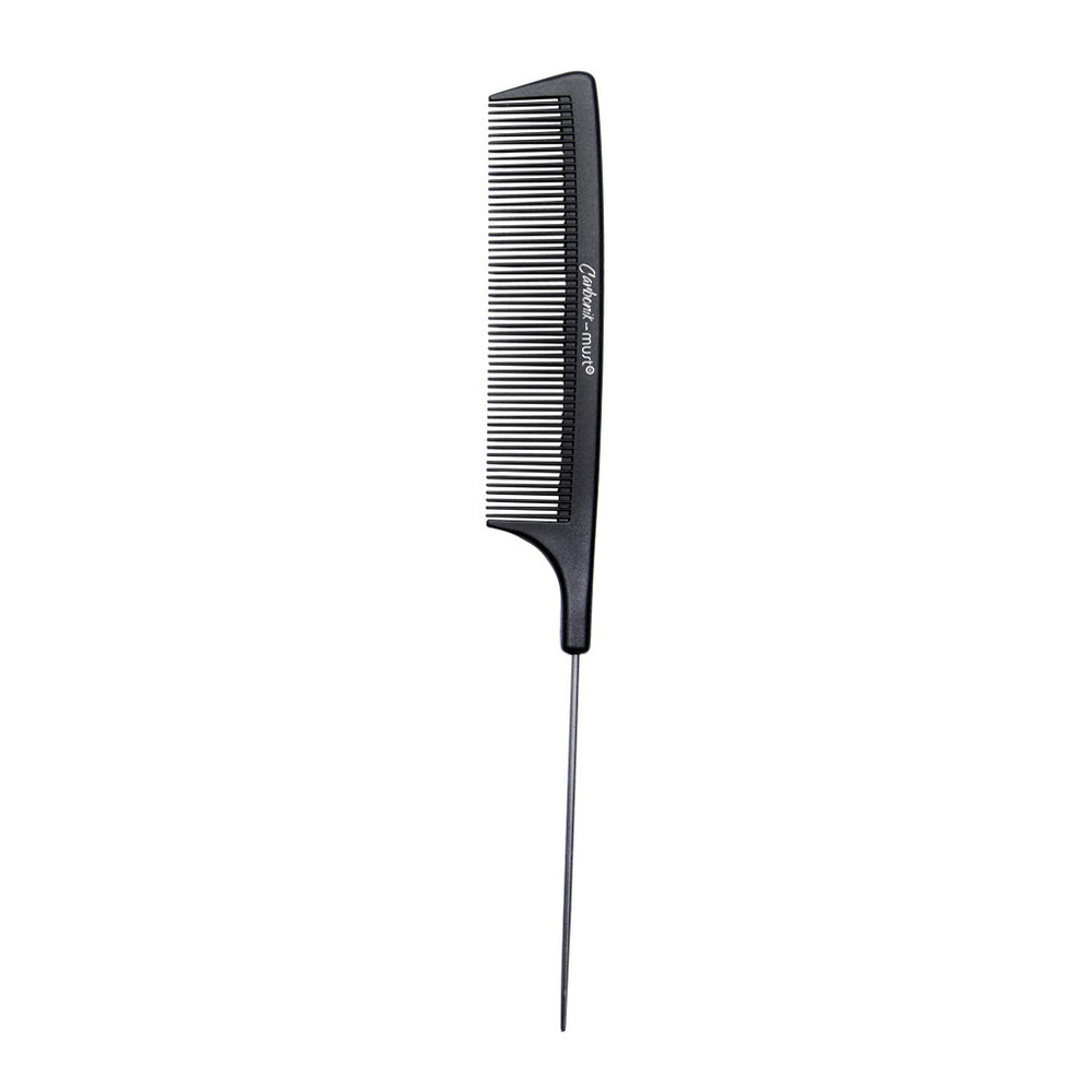 CARBONIK metal pin tail comb