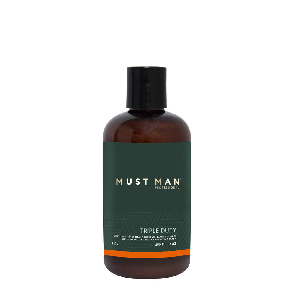 Triple duty - Hair, beard and body wash - 250ML