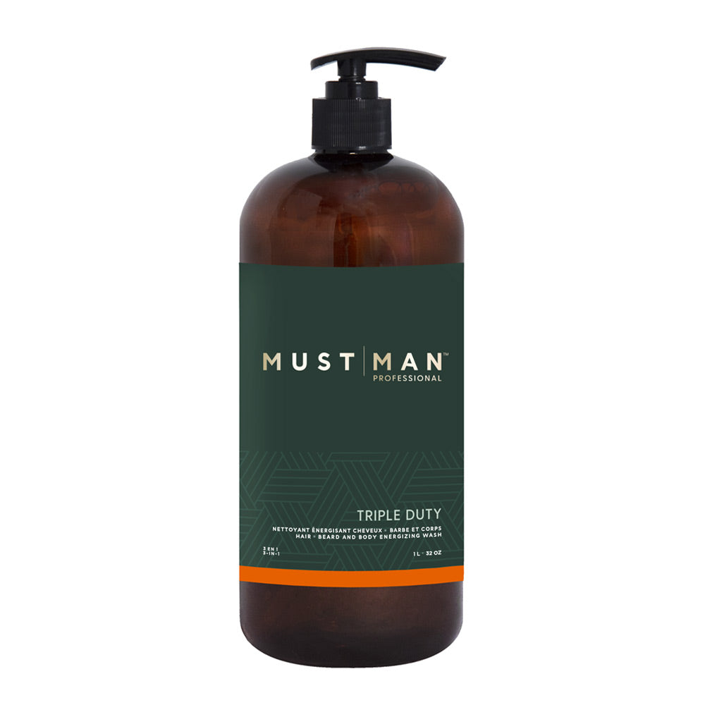 Triple duty - Hair, beard and body wash - 1L