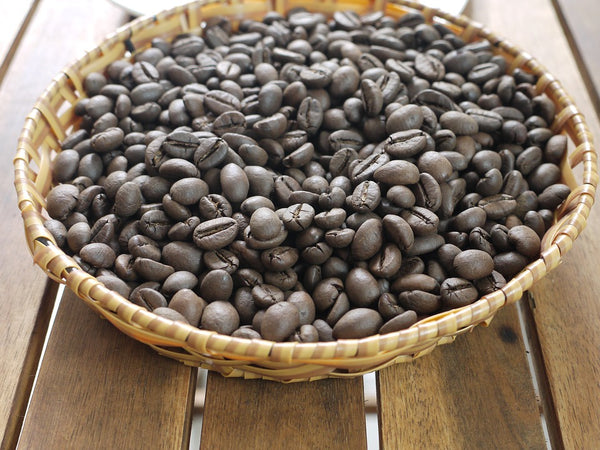 Vietnamese Robusta Coffee Beans in a Bowl