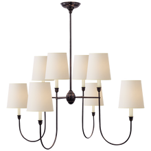 Load image into Gallery viewer, Vendome Large Chandelier