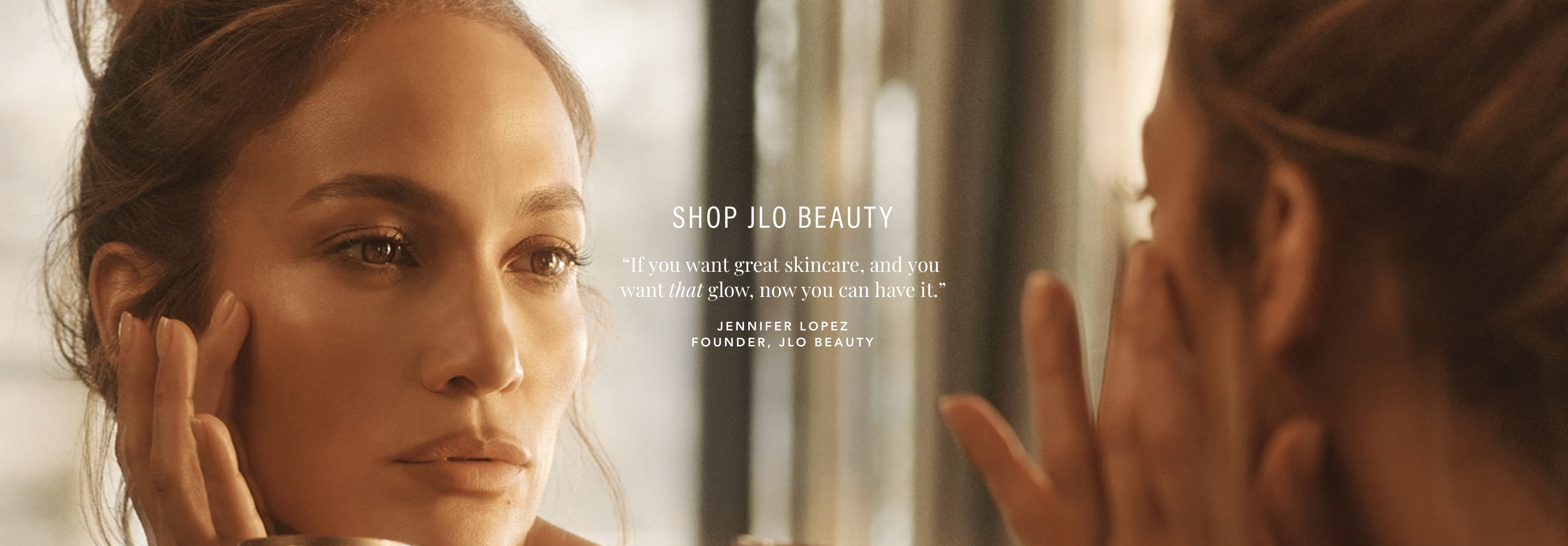 INTRODUCING JLO BEAUTY