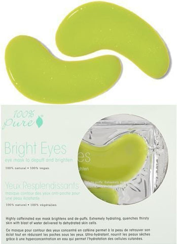 Maschere 100% Pure Bright Eyes - Confezione da 5 - Beautyshop.it