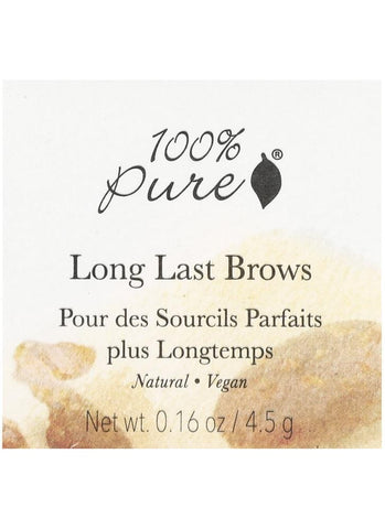100% Pure Long Brows - Beautyshop.ie