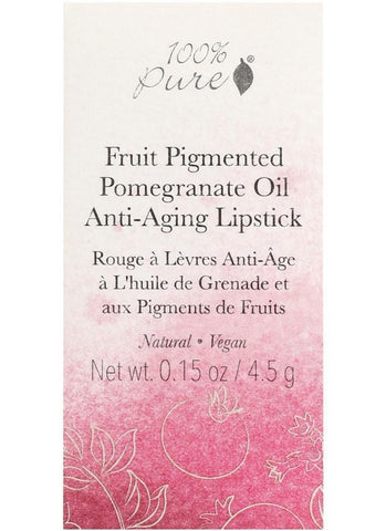 100% Pure Fruit Pigmented Pomegranate Oil Lipstick - Beautyshop.ie