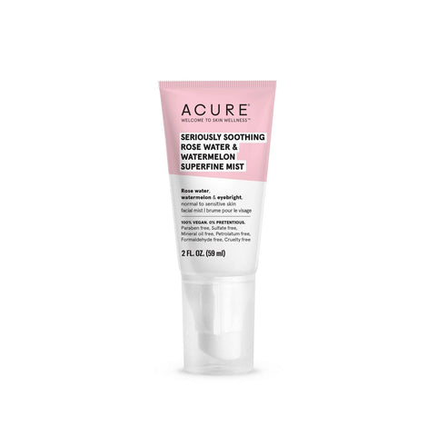 Acure Seriously Soothing Superfine Mist - Rosewater & Watermelon - 60ml - Beautyshop.se