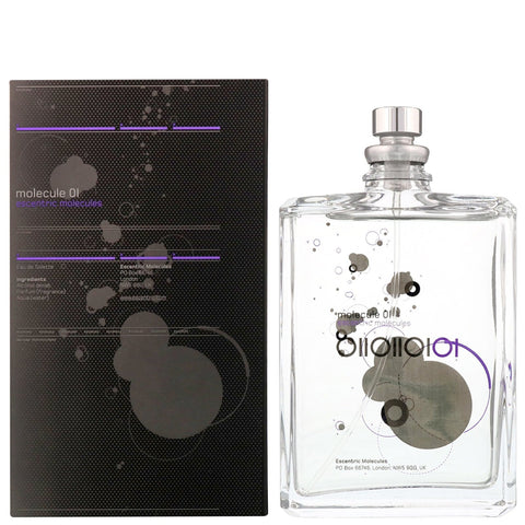Escentric Molecules Molecule 01 Eau de Toilette Spray 100ml - Beautyshop.fr