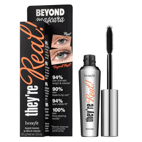 beneficio They're Real Lengthening Mascara Negro - Beautyshop.es