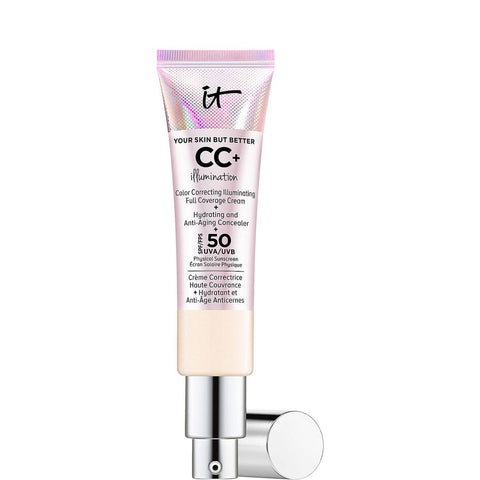 IT COSMETICS Your Skin But Better CC + Illumination avec SPF 50+ - Beautyshop.ie