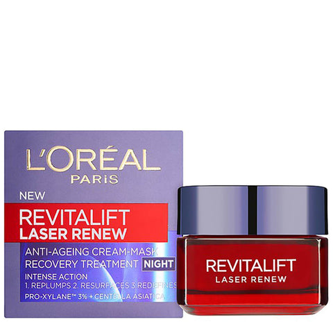 L'Oréal Paris Revitalift Laser Renew Night Cream 50ml - Beautyshop.ro
