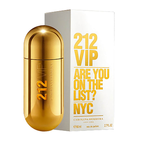 Carolina Herrera 212 VIP Eau de Parfum 80ml - Beautyshop.ie