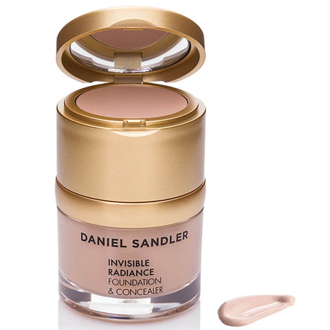 Daniel Sandler Invisible Radiance Foundation and Concealer - Sand - Beautyshop.se