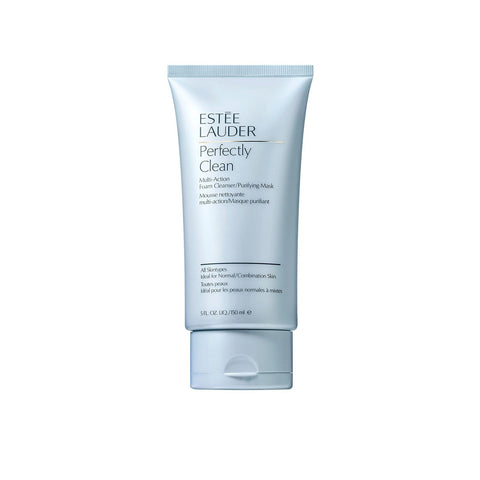 Estée Lauder Perfectly Clean MultiAction Foam Cleanser and Purifying Mask 148ml - Beautyshop.ie