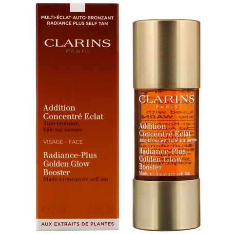 Clarins Itseruskettava Radiance-Plus Golden Glow Booster kasvoille 15ml / 0.5 fl. Oz. - Beautyshop.fi
