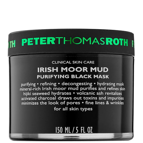Peter Thomas Roth Irish Moor Mud Purifying Black Mask 150ml - Beautyshop.ie