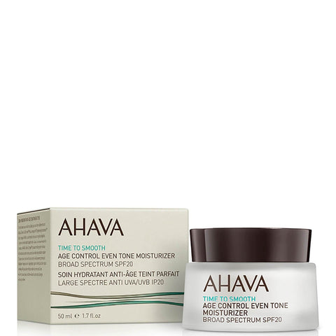 AHAVA Age Control Even Tone Moisturizer SPF20 50ml - Beautyshop.ie