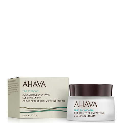 AHAVA Age Control Even Tone Sleeping Cream 50ml - Beautyshop.ie
