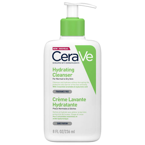 CeraVe Hydrating Cleanser 236ml - Beautyshop.ie