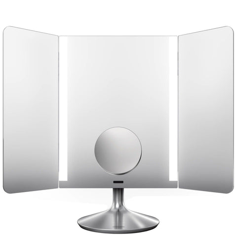 simplehuman Sensor Mirror Pro Wide View 40.5 cm - Acier inoxydable