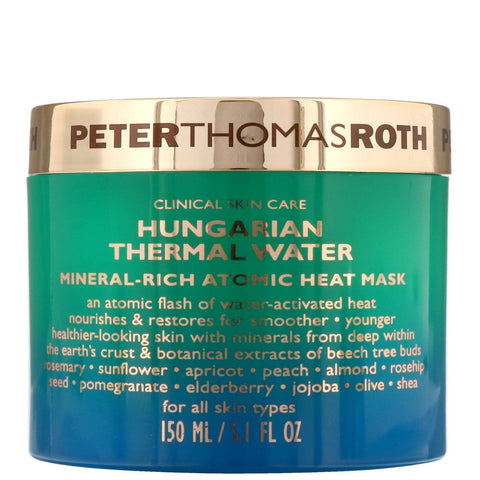 Peter Thomas Roth Hungarian Thermal Water Mineral Rich Atomic Heat Mask 150ml - Beautyshop.se