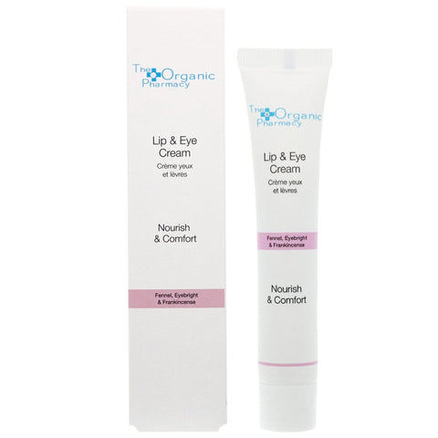 The Organic Pharmacy Lip and Eye Cream 10ml