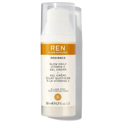 REN Clean Skincare Glow Daily C bitamina gel krema 50ml - Beautyshop.ie
