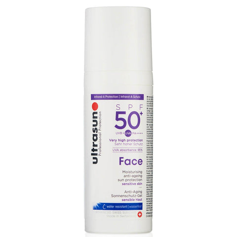 Loțiune anti-îmbătrânire Ultrasun Face SPF 50+ 50ml