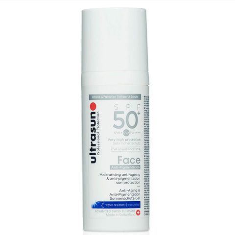 Sejas losjons Ultrasun Anti Pigmention SPF 50+ 50ml - Beautyshop.lv