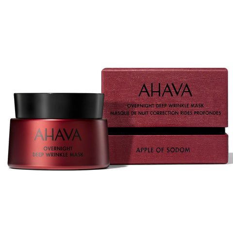 AHAVA Exclusive Overnight dziļu grumbu maska ​​50ml