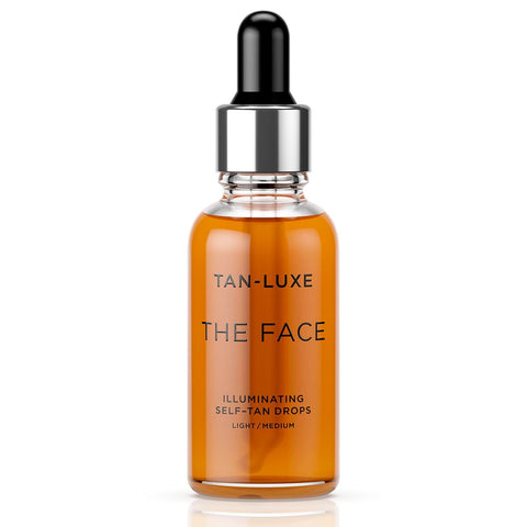 Tan-Luxe The Face Illuminating Self-Tan Drops 30ml - Легкие / Средние - Beautyshop.ie