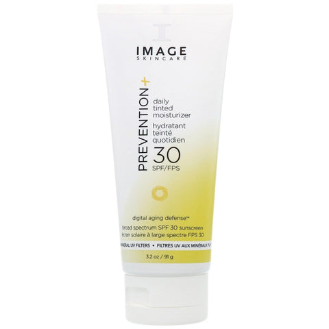 IMAGE Skincare Prevention + Crema hidratante diaria con color SPF30 + 91g / 3.2 oz.
