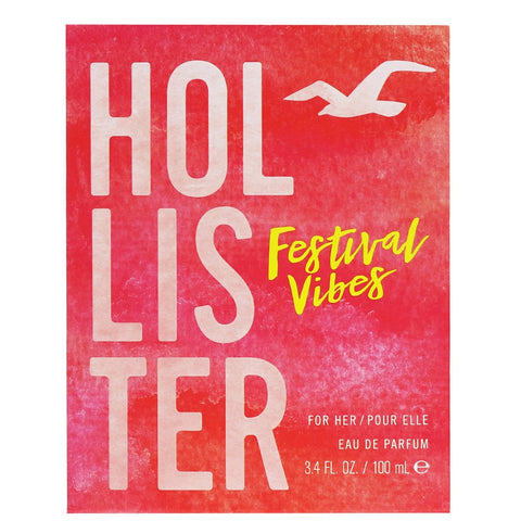 Hollister Festival Vibes For Her Eau de Parfum Spray 100ml