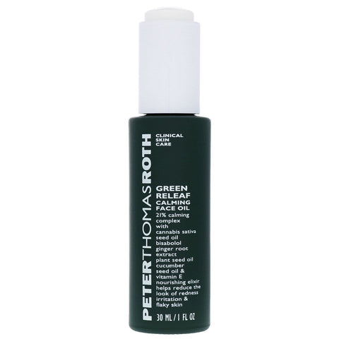 Peter Thomas Roth Green Releaf Calming veido aliejus 30ml