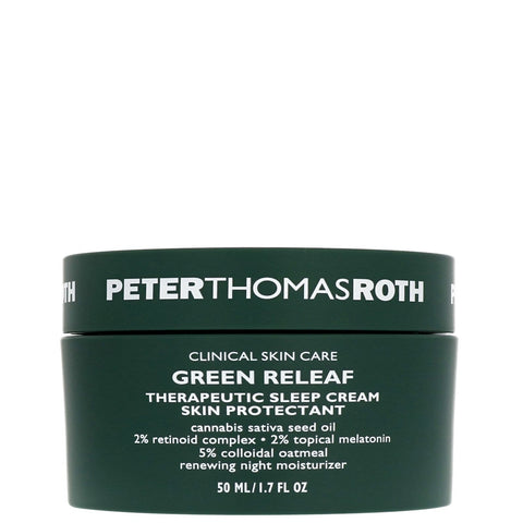 Peter Thomas Roth Green Releaf Therapeutic Sleep Cream Skin Protectant 50ml - Beautyshop.se