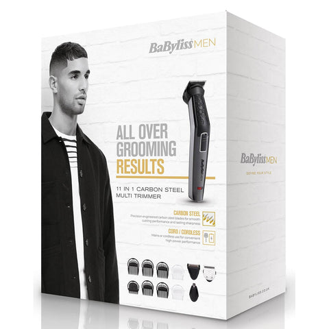 BaBylissMEN 11 in 1 Multi Trimmer Carbon Titanium - Beautyshop.it