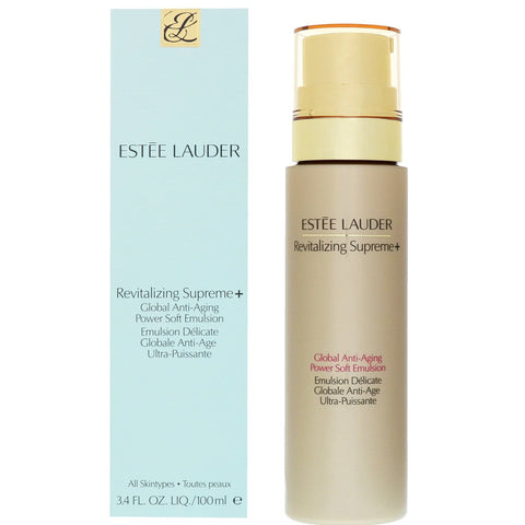 Estée Lauder Revitalizing Supreme+ Global Anti-Aging Power Soft Emulsion 100ml - Beautyshop.ie