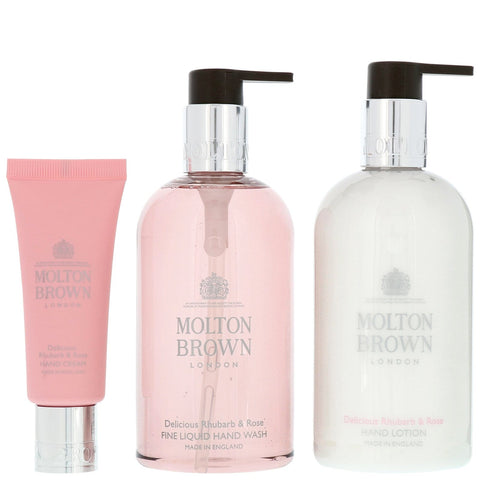 Molton Brown Gift & Sets Delicious Rhubarb & Rose Hand Gift Set - Beautyshop.es